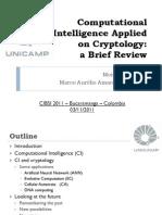 4. Computational Intelligence Applied on Cryptology