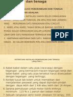 Instalasi Listrik Tenaga Rizani Presentasi 1