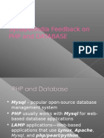 SynapseIndia Feedback on PHP and DATABASE