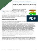 MELEK BENCANA _ Peran Geofisika (Fisika Bumi) Dalam Mitigasi Dan Monitoring Bencana (I)