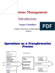 PPT1 Operations Management Introduction