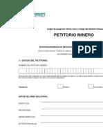 Formato de Petitorio Minero 2008 (1)