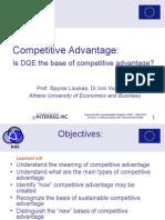 Lecture1 Competitive Advantage