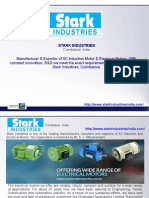 AC Induction Motor Manufacturer in Coimbatore, Electrical Motors Exporter