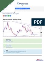 Forex Daily Forecast 06 Aug 2015- Bluemaxcapital