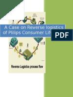 A Case on Reverse Logistics of Plilips Consumer Lifestyle