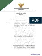 PERATURAN MENTERI PEKERJAAN UMUM DAN PERUMAHAN RAKYAT REPUBLIK INDONESIA  NOMOR 02/PRT/M/2015 TENTANG  BANGUNAN GEDUNG HIJAU