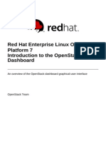 Red Hat Enterprise Linux OpenStack Platform-7-Introduction to the OpenStack Dashboard-En-US