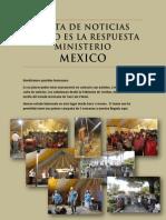 Carta de Noticias Cristo Es La Respuesta Ministerio Mexico