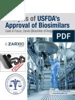 Analysis of USFDA's Approval of Biosimilars