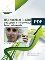 Us Launch of Glatopa