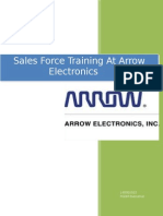 Sales Force Training at Arrow Electronics