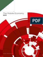 GSMA Mobile Economy 2015
