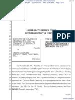 Sindicato De Empleados Y Trabajadores De La Industria et al v. Credit Managers Association of California Inc - Document No. 10