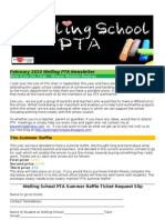 Welling PTA Newletter Feb 2010 Final