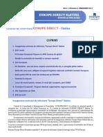 Newsletter Europedirect-Slatina Anul 1 Nr 2