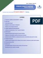 Newsletter Europedirect-Slatina Anul 1 Nr 5