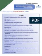 Newsletter Europedirect-Slatina Anul 1 Nr 11