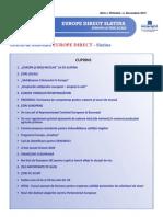 Newsletter Europedirect-Slatina Anul 1 Nr 12