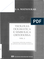 Teologia Dogmatica Matsouka