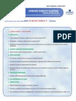 Newsletter Europedirect-Slatina Anul 2 Nr 4
