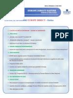 Newsletter Europedirect-Slatina Anul 2 Nr 6
