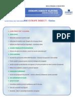 Newsletter Europedirect-Slatina Anul 2 Nr 8