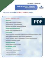 Newsletter Europedirect-Slatina Anul 2 Nr 11