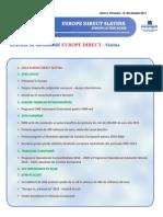 Newsletter Europedirect-Slatina Anul 2 Nr 12