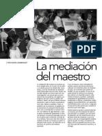 La Mediacion Del Maestro