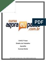 PDF AEP OAB2aFase DireitodoTrabalho Apostila KonradMota