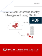 Cloud-based Enterprise Identity Management Using OAuth