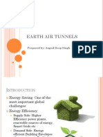 Air Earth Heat Exchanger System
