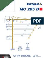 mc205B manual