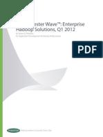 The Forrester Wave Enterprise Hadoop Solutions q1 2012