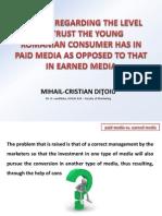 Earned Media Prese earned media presentationntation