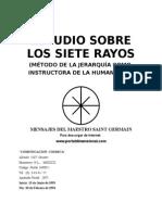 Comunicación Cósmica - Estudios Sobre Los Siete Rayos, Mensa