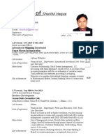 CV of Shariful Haque (July, 2015).docx