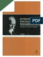 A Gomes Penna - Introducao a Psicoçogia Fenomenologica