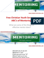 Free Christian Youth Sermons - ABC's of Mentoring