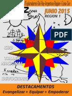 Boletin Junio 2015 - Exploradores del Rey Argentina R1, Zona Sur