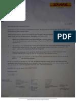 DHL Dokumenten
