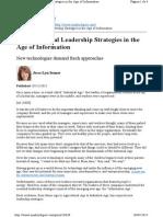 9 Essential Leadership Strategies
