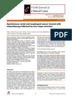 Metastassis cancer syncron