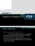 Input Output Devices Presentation