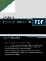 Input Output Devices Presentation