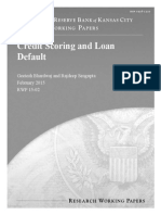 Credit Scoring and Loan Default
