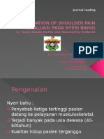 Evaluation of Shoulder Pain