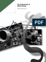 Fundamental of Modal Testing