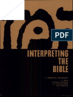 Berkeley, M. Interpreting the Bible